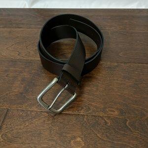 Other - Mens dark brown leather belt